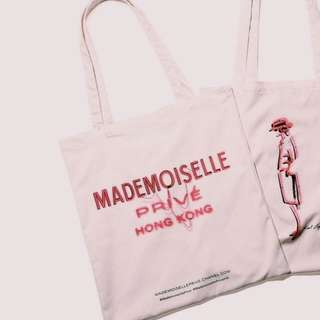 Mademoiselle Prive HK Tote bag with Poster (G-dragon/Lily-Rose Depp)