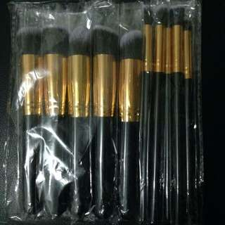 Kabuki 10pcs make up brushes