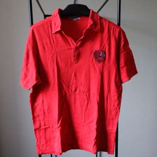 Baleno Red Men Polo Shirt