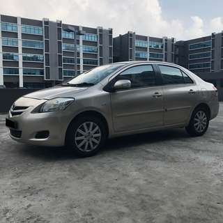 Toyota Vios From $44 Per Day