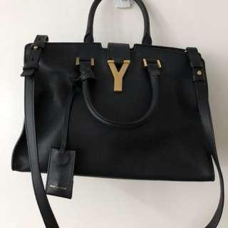 YSL Classic Y Leather Handbag