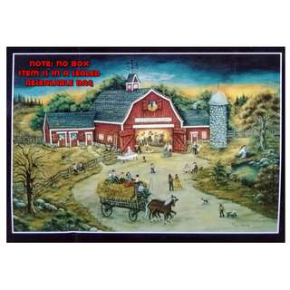 Jigsaw Puzzle - 500 pieces - Barn Dance at O'Flannery