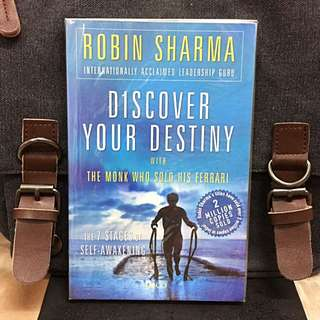 《Preloved + Self Awakening & Self- Enrichment》Robin Sharma - DiISCOVER YOUR DESTINY WITH THE MONK WHO SOLD HIS FERRARI: The 7 Stages of Self-Awakening