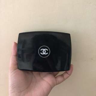Authentic Chanel gloss and powder palette