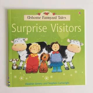 Usborne Farmyard Tales Surprise Visitors