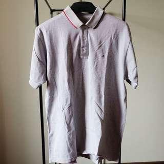 Grey Men Polo Shirt