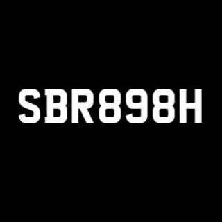 Nice Car Plate SBR898H