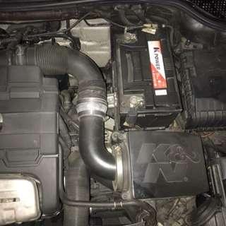 K&N performance air intake
