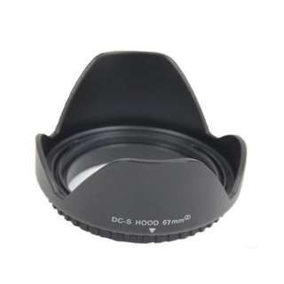 67mm screw in lens hood
