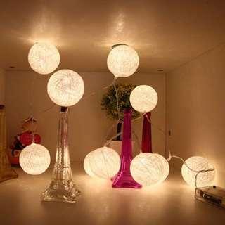 4meter Cotton Ball fairy light