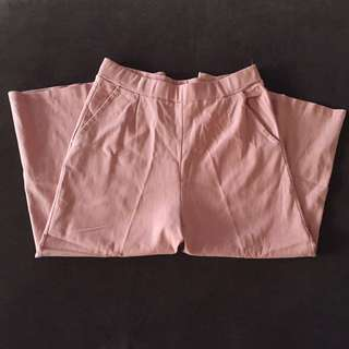 Pink Culottes (Stretchable)