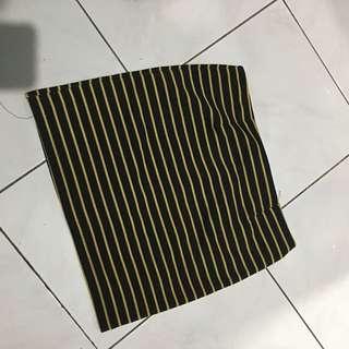 [PRELOVED] Yellow Black Skirt