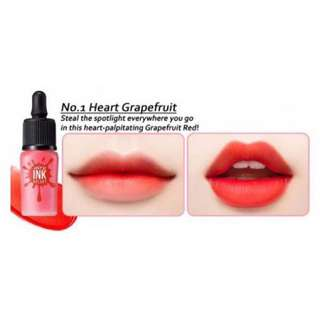 Peripera Airy Tint Heart Grapefruit