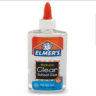 Elmer's Washable Clear Glue 5 oz (New)