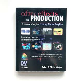 Adobe After Effects in Production