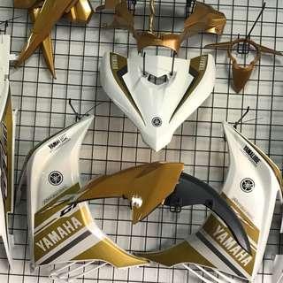 JUPITER MX 135 LC135V2 GP DESIGN GOLD WHITE YAMAHA