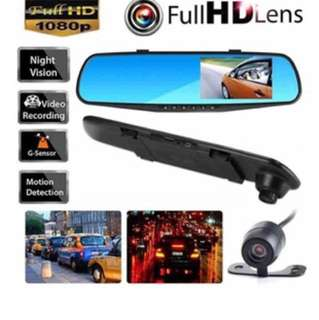 Car Camera - 4 inch LCD Mirror with Rear / Back Up / Reverse Function