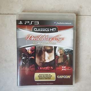 (PS3) Devil May Cry HD Collection