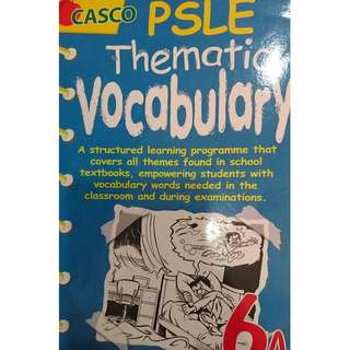 PSLE English Thematic Dictionary