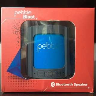 NEW Pebble Blast! Bluetooth speaker