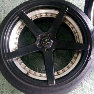Velg plus Ban ring 20'(4pcs)merk JF LUXURY
