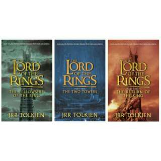 [EBOOK] The Lord of the Rings Trilogy + The Hobbit by J.R.R. Tolkien