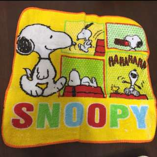 Snoopy handkerchief for baby, kids