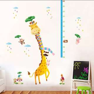 Cartoon animal wall stickers warm bedroom kindergarten children's room background decorative wall stickers/Home Decor