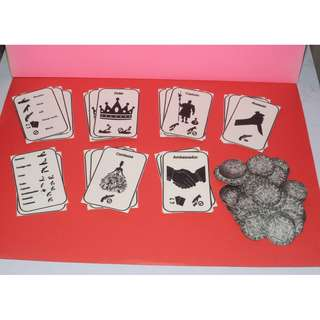 B/W Coup card game DIY small