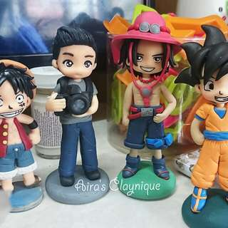 Cake topper / anime figurines