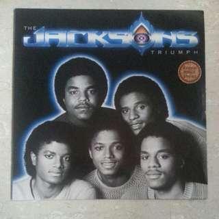 Jackson Lp Vinyl Record