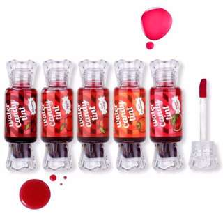 On hand water candy tint