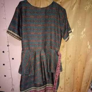 Dress batik Naradha