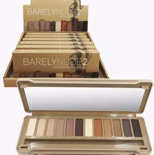 NEW ARRIVAL - BEAUTY CREATIONS BARELY NUDE 2