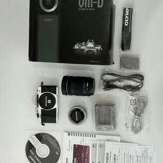 Kamera DSLR Olympus OMD 10 Mark 2 lensa 2