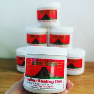 On hand AZTEC SECRET Indian Healing Clay