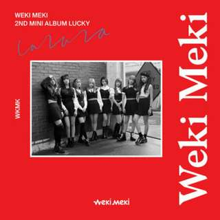 [PREORDER] Weki Meki - Lucky (2nd Mini Album)