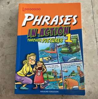 phrases in action through pictures book series 1,2,3
