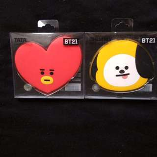 [READYSTOCK] BTS BT21 HAND MIRROR