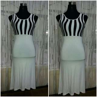 Long Stripe Dress ( Dress)