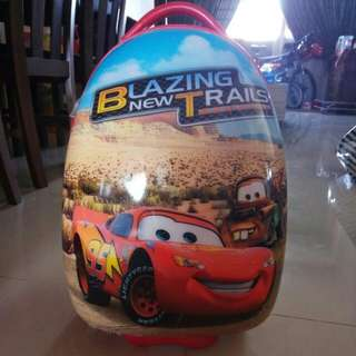 Preloved Lightning McQueen Luggage