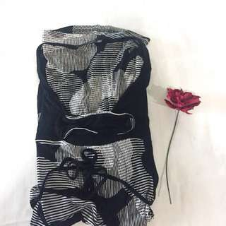 [Valentine's Day] edition - Black and White dress