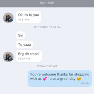 Customer review  ❤️