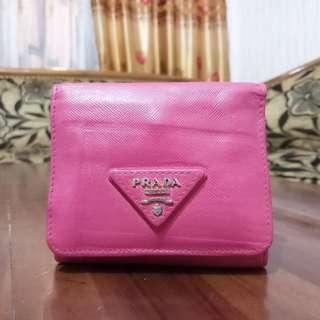 Prada Milano Saffiano Wallet Auth. Made in Italy prada louis vuitton gucci bally hermes chanel