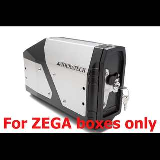 For Zega panniers ONLY - Touratech tool box - BMW R1200GS LC 2013 on, 2017 on, Adventure LC 2014 on