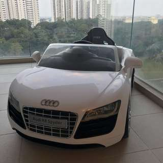 Audi R8 Ride On Car with Remote Control