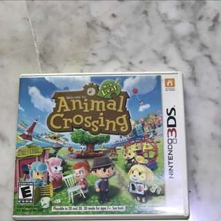3DS Games(animal crossing sold)
