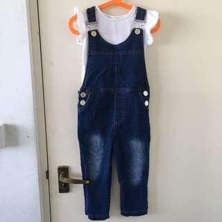 Denim Overall/Jumpsuit
