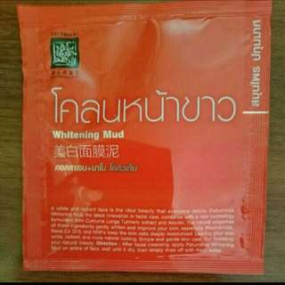 Whitening Mud Mask Pack 10g