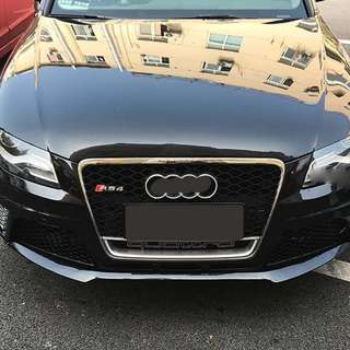 Audi A4 (B8) to RS4 Front Bumper with Grill